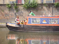 A narrowboat trip aboard Pirate Viscount